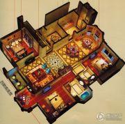 万科中梁・金域中央5室2厅2卫128平方米户型图
