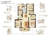 嘉洲灏庭3室2厅2卫123--137平方米户型图