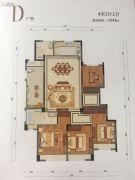 九洲绿城・翠湖香山4室2厅2卫144平方米户型图