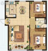 银大・蔚未来2室2厅1卫0平方米户型图