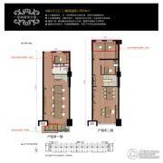 华融和生国际商业广场4室1厅2卫59平方米户型图