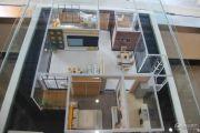 嘉和新世界2室2厅1卫98平方米户型图