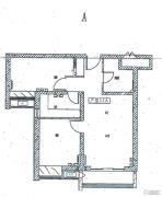 中建国际港2室2厅2卫88平方米户型图