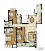 白塘壹号3室3厅3卫165--170平方米户型图