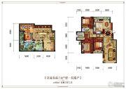 皇冠壹品5室3厅2卫282平方米户型图