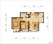 中交・香颂(廊坊)2室2厅1卫82平方米户型图