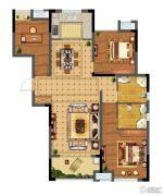 碧桂园仙林东郡3室2厅2卫108平方米户型图