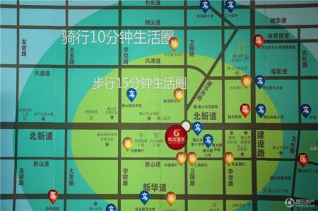 青岛市凤城地图