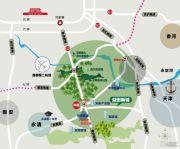 百合尚城交通图