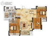 升华・翡翠一品2室2厅2卫114平方米户型图