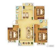 钓鱼一�院3室2厅2卫115平方米户型图