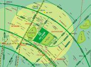 首创光和城交通图