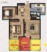 御园3室2厅2卫118平方米户型图