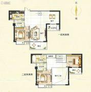 霞浦东泰华府3室3厅3卫152平方米户型图