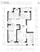 万正广场4室0厅0卫249平方米户型图