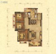华讯大宅3室2厅1卫0平方米户型图