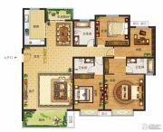 南湖燕园4室2厅3卫190--210平方米户型图