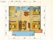 中铁・水岸青城3室2厅2卫120平方米户型图