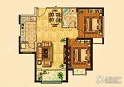 兰雅园丁雅居3室2厅1卫97平方米户型图