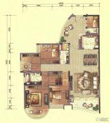 合生紫��府5室2厅3卫182平方米户型图