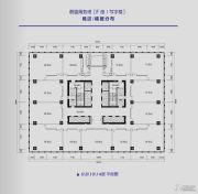 蔚蓝商务港90--2000平方米户型图