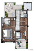 灏景湾2室2厅2卫115平方米户型图