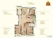 苏宁睿城4室2厅3卫216平方米户型图