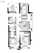 碧桂园东旭府3室2厅2卫0平方米户型图