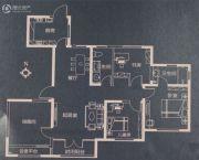 天房美棠4室2厅2卫140平方米户型图