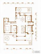 潭泽溪郡4室2厅2卫189--193平方米户型图
