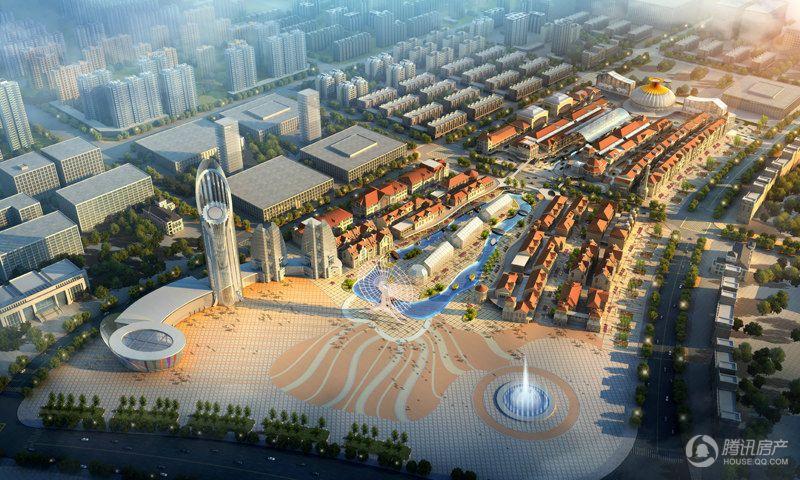 中国(成都)国际时尚中心- 鸟瞰图