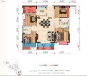 天立・凤凰唐城4室2厅2卫112平方米户型图