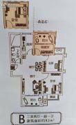 森林庄园二期3室2厅1卫92平方米户型图