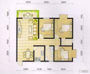 波兰尚龙城3室2厅2卫108平方米户型图