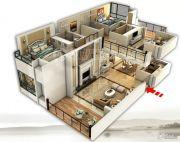 裕和天地4室3厅4卫250平方米户型图