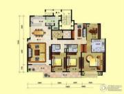 8哩岛4室3厅3卫254平方米户型图