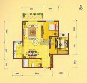 祥瑞・四季印象2室2厅1卫88平方米户型图
