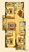 海星御和园3室2厅2卫147平方米户型图