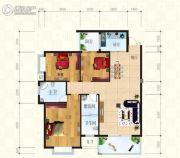 锦天・生态城3室2厅2卫119平方米户型图
