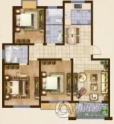 海洲・铂兰庭3室2厅2卫0平方米户型图