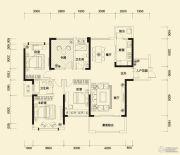 方直东岸3室2厅3卫136平方米户型图