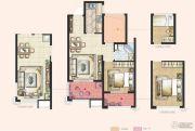 神州通北城新境2室2厅1卫68平方米户型图