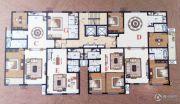 紫园2室2厅2卫128平方米户型图