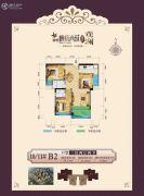 益通・枫情尚城3室2厅2卫108平方米户型图