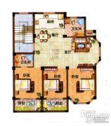 光明公寓3室2厅2卫119平方米户型图