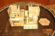 绿地・香树花城2室2厅1卫74平方米户型图