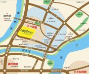 凯旋・湖景水岸交通图