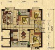 香樟美地3室2厅2卫114平方米户型图