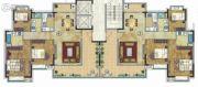 珠光御景山水城3室2厅0卫123平方米户型图