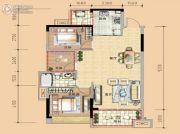 春晖国际城3室2厅1卫0平方米户型图